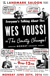 Wes Youssi Landmark Poster